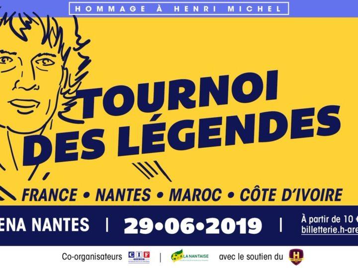 Tournoi de Légendes: ouverture billetterie