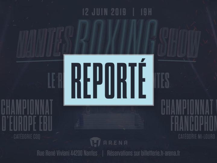 Report du «Nantes Boxing Show»