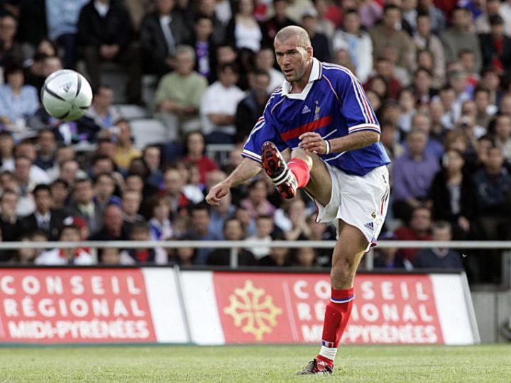 Zinédine Zidane au Tournoi Des Légendes