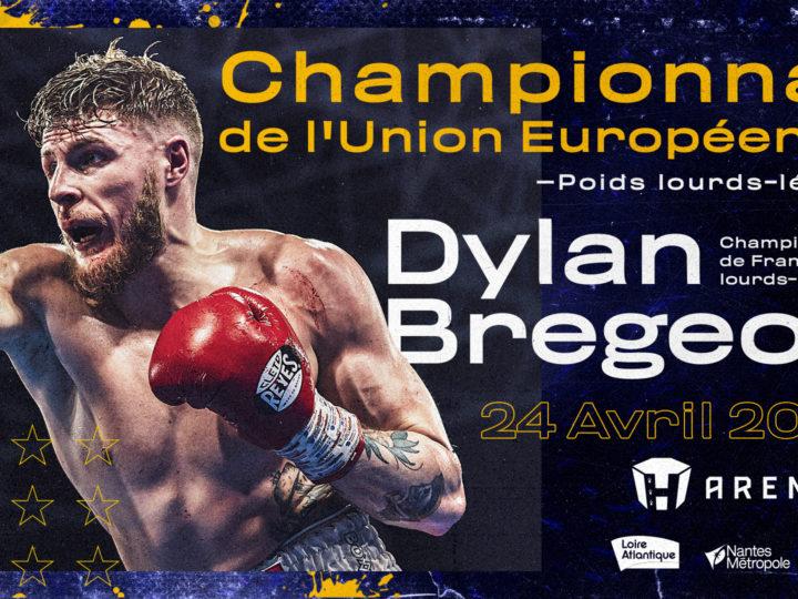 Dylan Bregeon boxera pour l'Europe à la H Arena