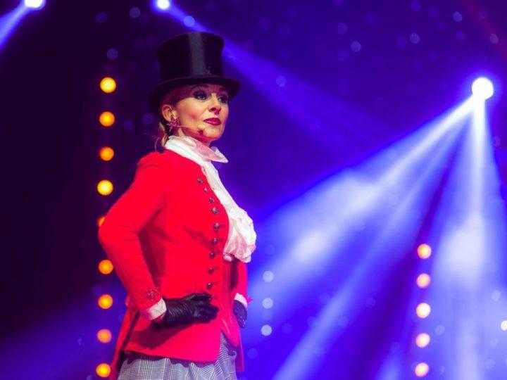 Laure Bontaz, la «Madame Loyal» de La H Arena fait son cirque