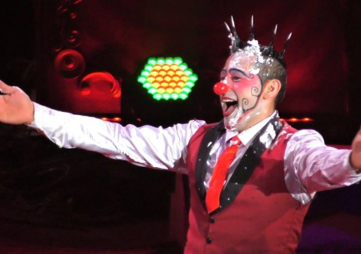 Le clown Henry Ayala pour faire le show à la H Arena